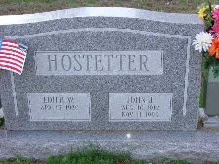 HOSTETTER, EDITH W. - Cecil County, Maryland | EDITH W. HOSTETTER - Maryland Gravestone Photos