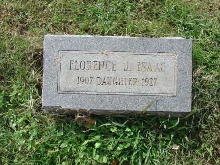 ISAAC, FLORENCE J. - Cecil County, Maryland | FLORENCE J. ISAAC - Maryland Gravestone Photos