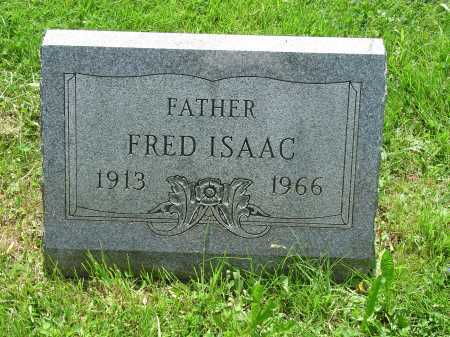 ISAAC, FRED - Cecil County, Maryland | FRED ISAAC - Maryland Gravestone Photos