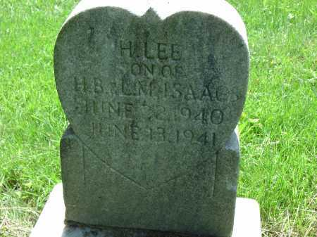ISAAC, H. LEE - Cecil County, Maryland   H. LEE ISAAC - Maryland Gravestone Photos