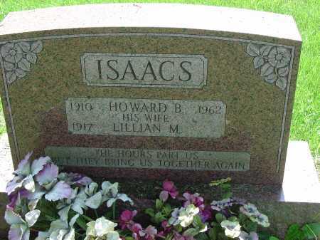ISAACS, HOWARD B. - Cecil County, Maryland | HOWARD B. ISAACS - Maryland Gravestone Photos