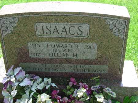 ISAACS, HOWARD B. - Cecil County, Maryland | HOWARD B. ISAACS - Maryland Gravestone Photos