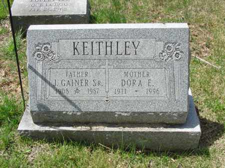 KEITHLEY, J. GAINER, SR. - Cecil County, Maryland | J. GAINER, SR. KEITHLEY - Maryland Gravestone Photos