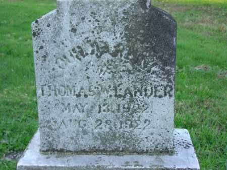 LANDER, THOMAS - Cecil County, Maryland | THOMAS LANDER - Maryland Gravestone Photos