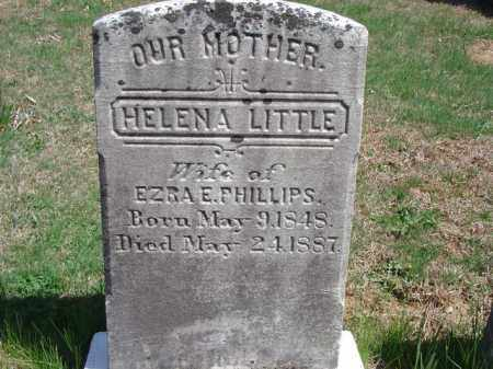 LITTLE, HELENA - Cecil County, Maryland | HELENA LITTLE - Maryland Gravestone Photos