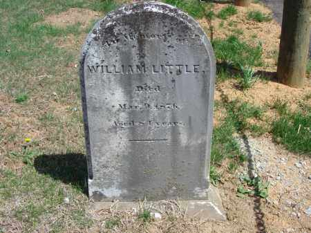 LITTLE, WILLIAM - Cecil County, Maryland | WILLIAM LITTLE - Maryland Gravestone Photos