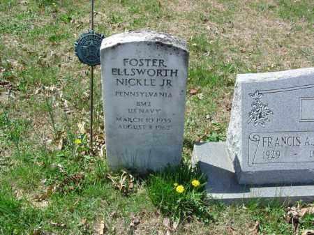 NICKLE JR., FOSTER ELLSWORTH - Cecil County, Maryland   FOSTER ELLSWORTH NICKLE JR. - Maryland Gravestone Photos