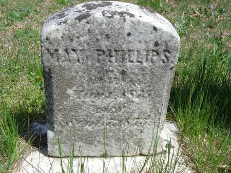 PHILLIPS, MAY - Cecil County, Maryland | MAY PHILLIPS - Maryland Gravestone Photos