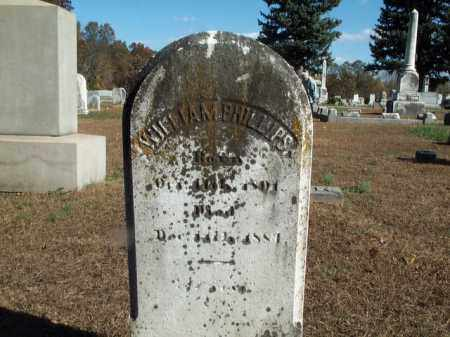 PHILLIPS, WILLIAM - Cecil County, Maryland | WILLIAM PHILLIPS - Maryland Gravestone Photos