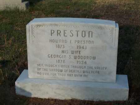 PRESTON, HOWARD E. - Cecil County, Maryland | HOWARD E. PRESTON - Maryland Gravestone Photos