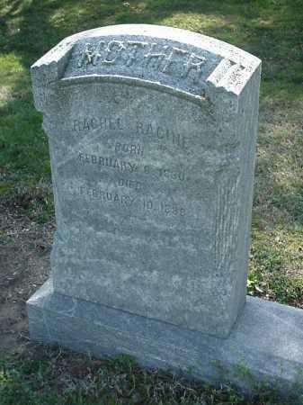 VANSANT RACINE, RACHEL - Cecil County, Maryland | RACHEL VANSANT RACINE - Maryland Gravestone Photos