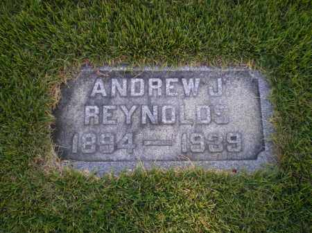 REYNOLDS, ANDREW J. - Cecil County, Maryland | ANDREW J. REYNOLDS - Maryland Gravestone Photos