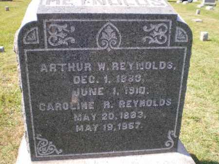 REYNOLDS, ARTHUR W. - Cecil County, Maryland | ARTHUR W. REYNOLDS - Maryland Gravestone Photos