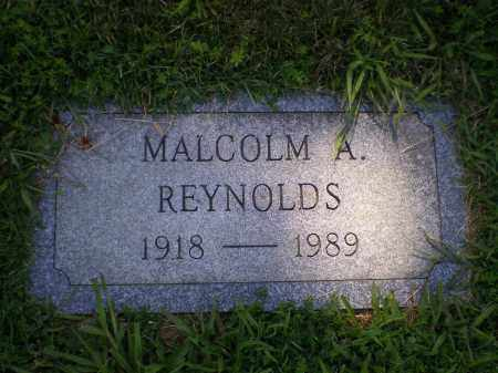 REYNOLDS, MALCOLM A. - Cecil County, Maryland   MALCOLM A. REYNOLDS - Maryland Gravestone Photos