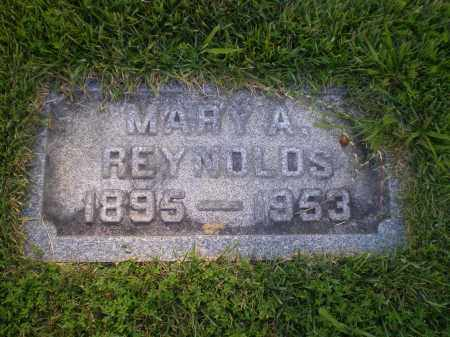 REYNOLDS, MARY A. - Cecil County, Maryland | MARY A. REYNOLDS - Maryland Gravestone Photos
