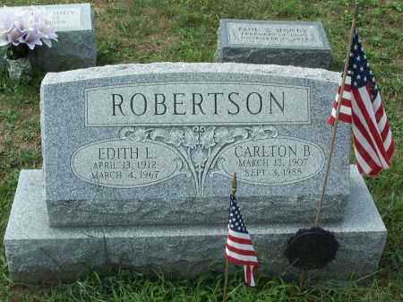 LILLEY ROBERTSON, EDITH L. - Cecil County, Maryland | EDITH L. LILLEY ROBERTSON - Maryland Gravestone Photos