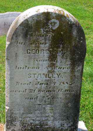 STANLEY, GEORGE - Cecil County, Maryland | GEORGE STANLEY - Maryland Gravestone Photos