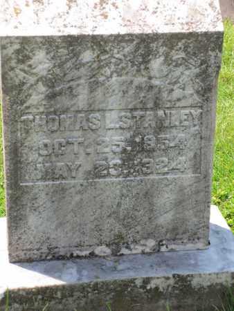 STANLEY, THOMAS - Cecil County, Maryland | THOMAS STANLEY - Maryland Gravestone Photos