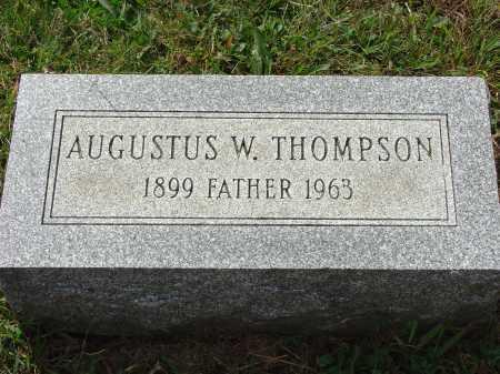 THOMPSON, AUGUSTUS W. - Cecil County, Maryland   AUGUSTUS W. THOMPSON - Maryland Gravestone Photos