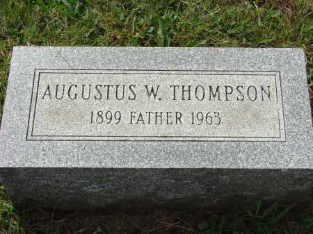 THOMPSON, AUGUSTUS W. - Cecil County, Maryland | AUGUSTUS W. THOMPSON - Maryland Gravestone Photos