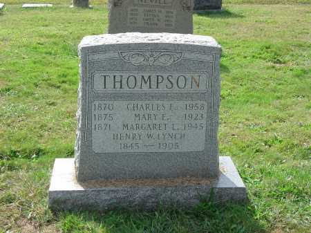 THOMPSON, CHARLES E. - Cecil County, Maryland | CHARLES E. THOMPSON - Maryland Gravestone Photos