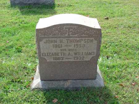 THOMPSON, JOHN H. - Cecil County, Maryland | JOHN H. THOMPSON - Maryland Gravestone Photos