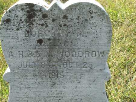 WOODROW, DOROTHY M. - Cecil County, Maryland | DOROTHY M. WOODROW - Maryland Gravestone Photos