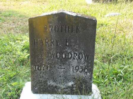 WOODROW, HARRY E. - Cecil County, Maryland   HARRY E. WOODROW - Maryland Gravestone Photos