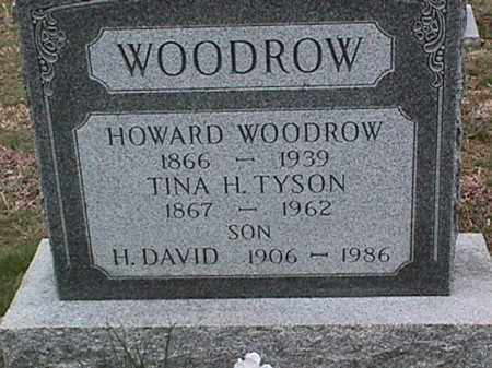 WOODROW, H. DAVID - Cecil County, Maryland | H. DAVID WOODROW - Maryland Gravestone Photos
