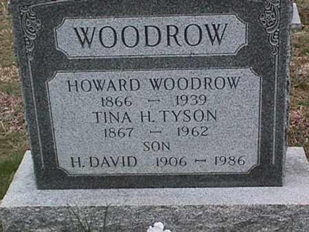 WOODROW, TINA H. TYSON - Cecil County, Maryland | TINA H. TYSON WOODROW - Maryland Gravestone Photos