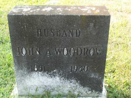 WOODROW, JOHN A. - Cecil County, Maryland   JOHN A. WOODROW - Maryland Gravestone Photos