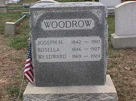 WOODROW, WM. EDWARD - Cecil County, Maryland | WM. EDWARD WOODROW - Maryland Gravestone Photos