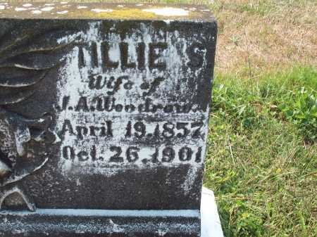 "WOODROW, MATILDA ""TILLIE"" - Cecil County, Maryland 
