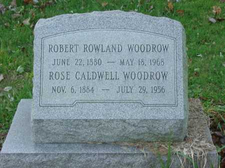 WOODROW, ROBERT ROWLAND - Cecil County, Maryland | ROBERT ROWLAND WOODROW - Maryland Gravestone Photos