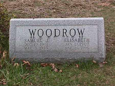 WOODROW, ELISABETH - Cecil County, Maryland | ELISABETH WOODROW - Maryland Gravestone Photos