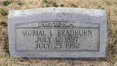 BRADBURN, MURIAL L. - Charles County, Maryland | MURIAL L. BRADBURN - Maryland Gravestone Photos
