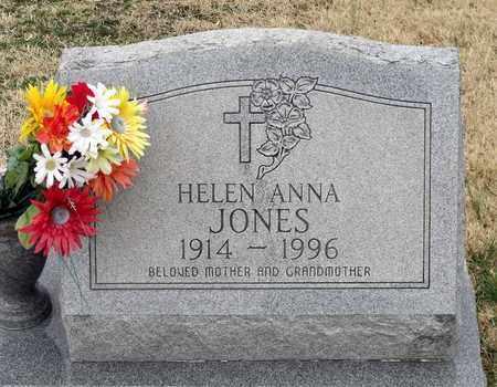 JONES, HELEN ANNA - Charles County, Maryland   HELEN ANNA JONES - Maryland Gravestone Photos