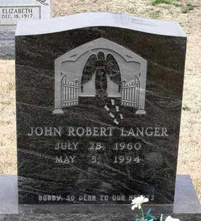 LANGER, JOHN ROBERT - Charles County, Maryland   JOHN ROBERT LANGER - Maryland Gravestone Photos