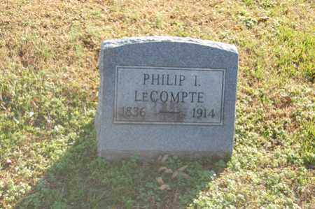 LECOMPTE, PHILIP I. - Dorchester County, Maryland | PHILIP I. LECOMPTE - Maryland Gravestone Photos