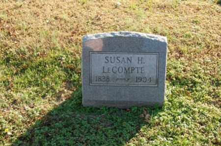 LECOMPTE, SUSAN H. - Dorchester County, Maryland | SUSAN H. LECOMPTE - Maryland Gravestone Photos
