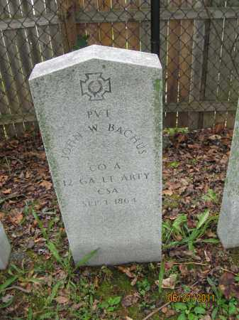 BACHUS (CW), JOHN W. - Frederick County, Maryland | JOHN W. BACHUS (CW) - Maryland Gravestone Photos