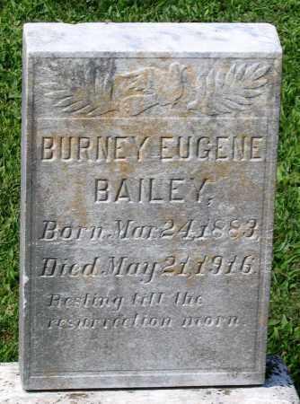 BAILEY, BURNEY EUGENE - Frederick County, Maryland | BURNEY EUGENE BAILEY - Maryland Gravestone Photos