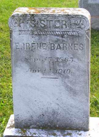 BARNES, E. IRENE - Frederick County, Maryland | E. IRENE BARNES - Maryland Gravestone Photos