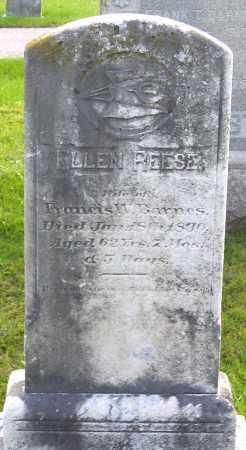 REESE BARNES, ELLEN - Frederick County, Maryland | ELLEN REESE BARNES - Maryland Gravestone Photos