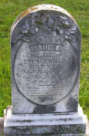 BARNES, MAUD E. - Frederick County, Maryland | MAUD E. BARNES - Maryland Gravestone Photos