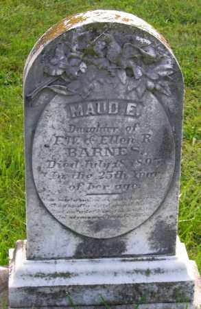 BARNES, MAUD E. - Frederick County, Maryland | MAUD E. BARNES - Maryland Gravestone Photos