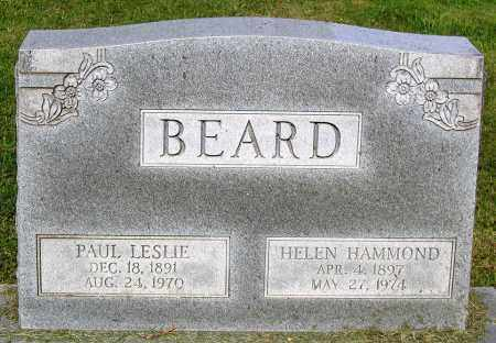 BEARD, PAUL LESLIE - Frederick County, Maryland | PAUL LESLIE BEARD - Maryland Gravestone Photos