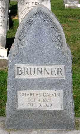 BRUNNER, CHARLES CALVIN - Frederick County, Maryland | CHARLES CALVIN BRUNNER - Maryland Gravestone Photos