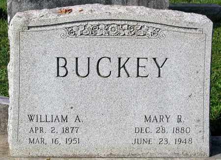 BUCKEY, WILLIAM A. - Frederick County, Maryland | WILLIAM A. BUCKEY - Maryland Gravestone Photos