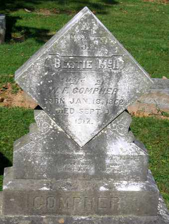 COMPHER, BERTIE MCL. - Frederick County, Maryland | BERTIE MCL. COMPHER - Maryland Gravestone Photos